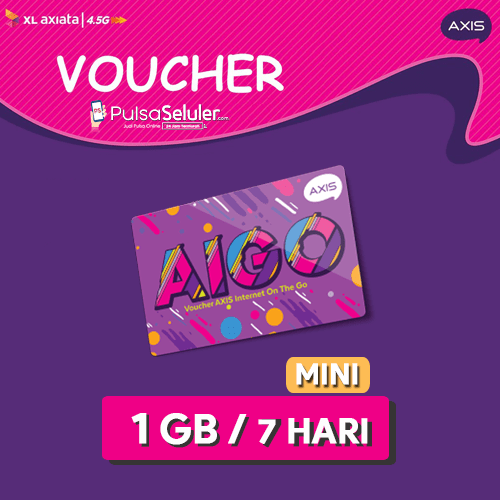 Paket Internet Voucher AXIS AIGO - MINI 2GB 7 HARI